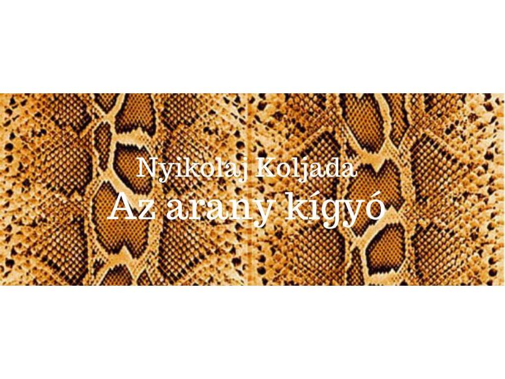 Az arany kígyó