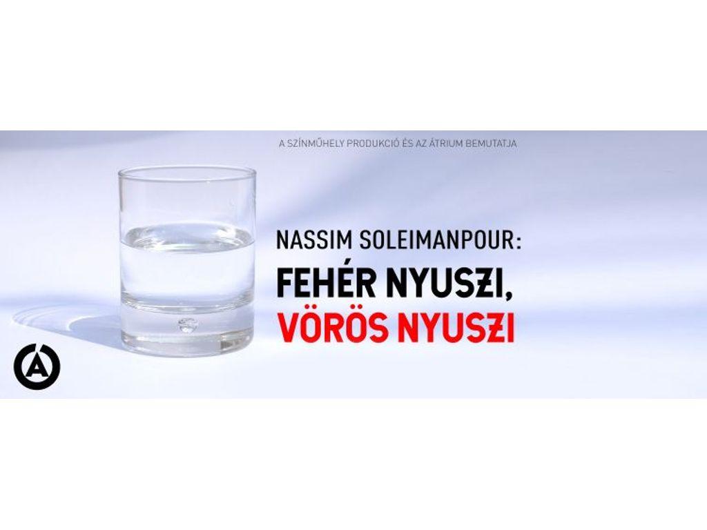 Fehér nyuszi, vörös nyuszi / Nassim Soleimanpour