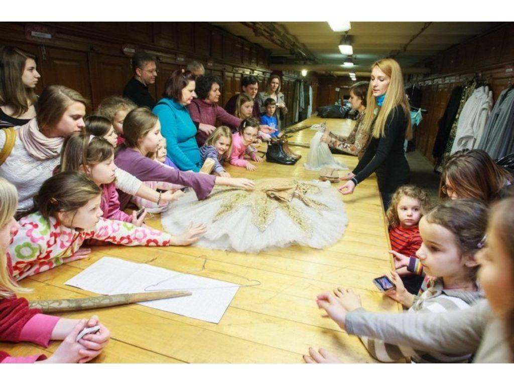Tütü! - Színházlátogatás balerinákkal