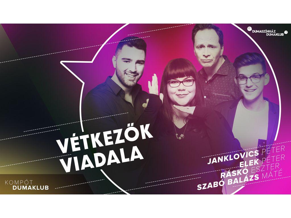 Vétkezők viadala - Elek Péter, Janklovics Péter, Ráskó Eszter, Szabó Balázs Máté