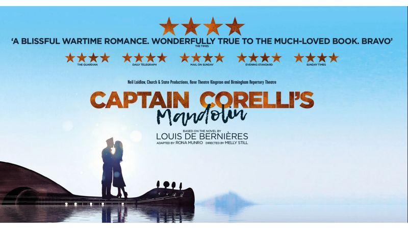 Corelli kapitány mandolinja – musicalként tér vissza a világhírű történet