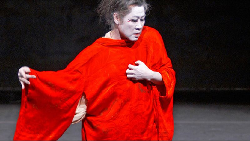 Egy igaz butoh táncos lép fel a Nemzeti Táncszínházban