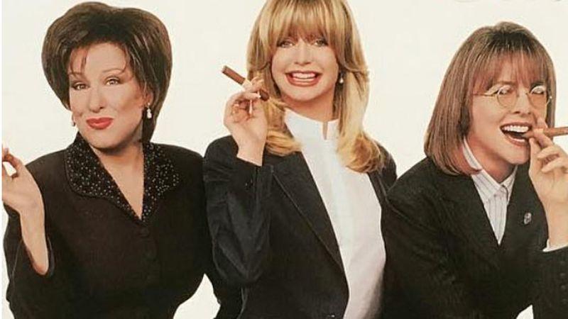 Goldie Hawn, Bette Midler és Diane Keaton újra együtt