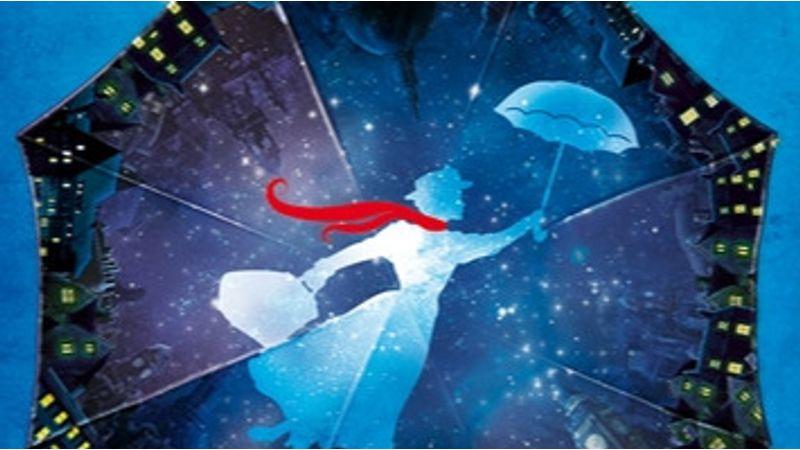 Mondanánk, hogy Mary Poppins az égből érkezik, de nem lenne igaz :)