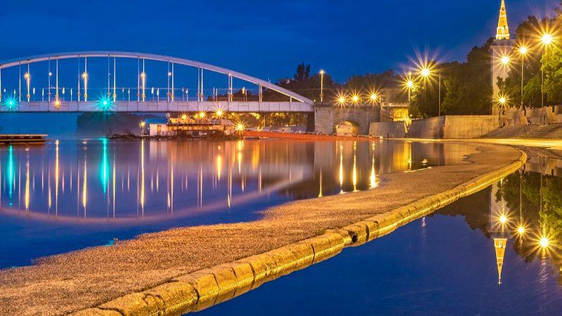 A Tisza-part, Szeged (szeged365.hu)