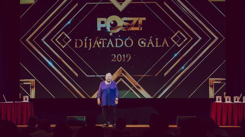 Molnár Piroska a tavalyi díjátadón (POSZT)