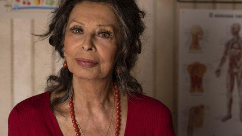 Több mint egy évtized után újra a filmvásznon Sophia Loren