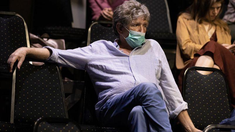 Alzheimer filmvetítés, Házi Színpad. Fotó: Juhász Éva