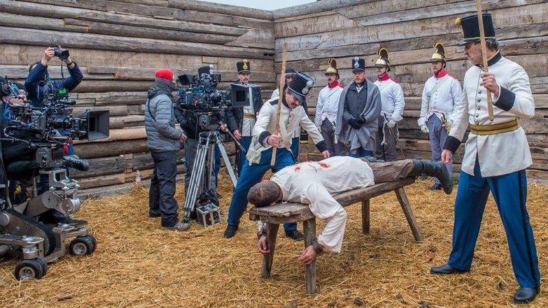 Filmforgatáson voltak a székesfehérvári Vörösmarty Színház társulatának tagjai