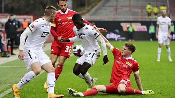Bundesliga: Hoffenheim verpasst Sieg bei Union Berlin