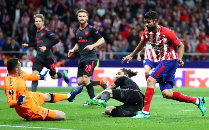 歐霸精華 - 馬德里體育會 1(2-1)0 阿仙奴︱迪亞高哥斯達建功 馬體會晉身決賽