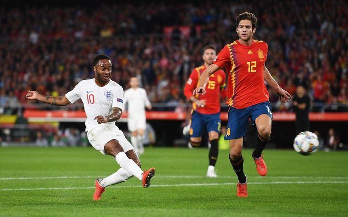 歐洲國家聯賽精華 - 西班牙 2-3 英格蘭︱史達寧破三年入球荒 柏高艾卡沙續勇建功