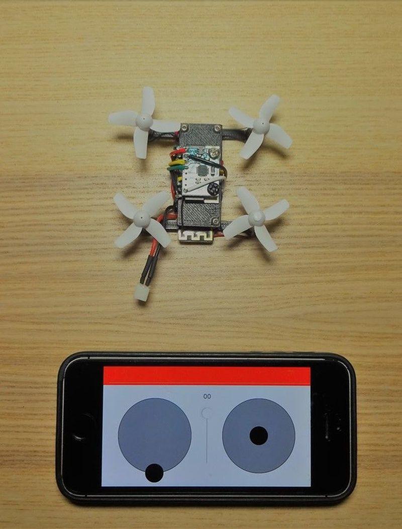 Quady - Tiny Drone Design