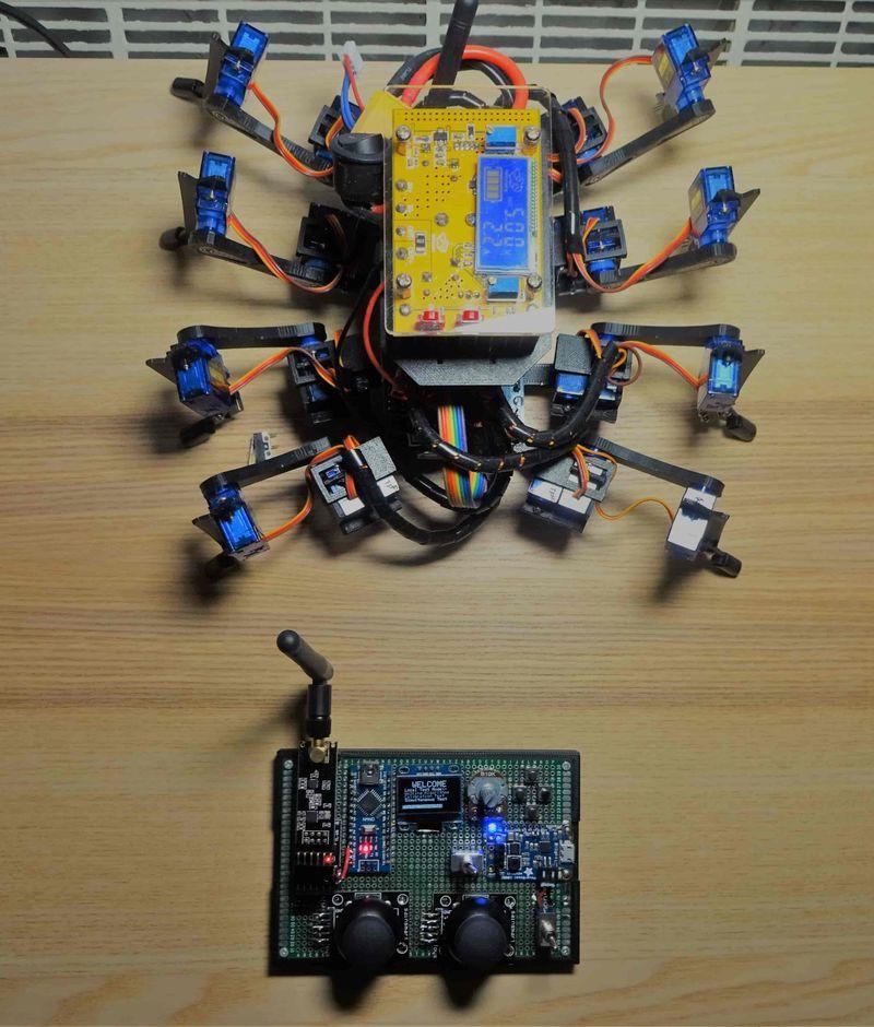 Spidy - Arduino Octopod Robot