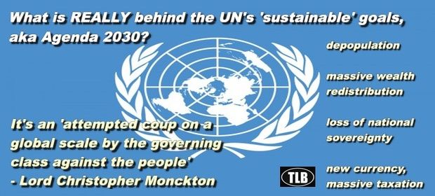 "The Real Agenda Behind UN ""Sustainability"" Unmasked 