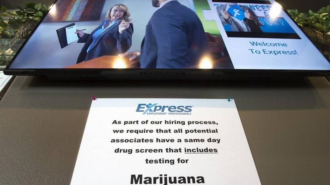When a weed-friendly world collides with your job application