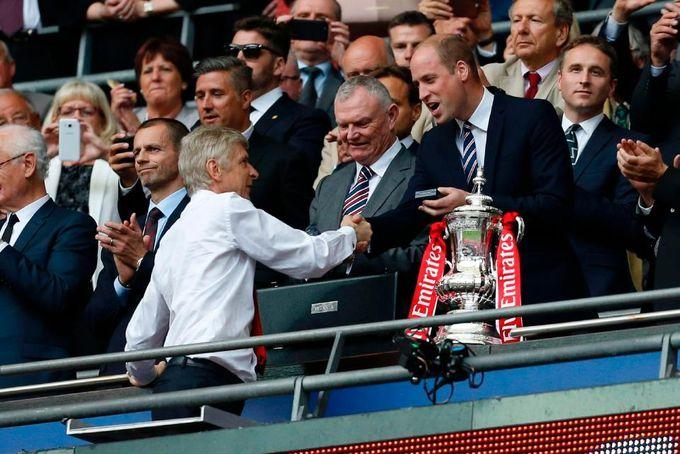 足總盃第三圈遲一分鐘開波 原來關威廉王子事?