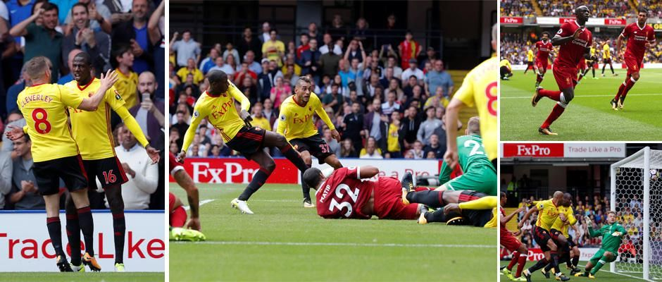 Kết quả hình ảnh cho Watford - Liverpool
