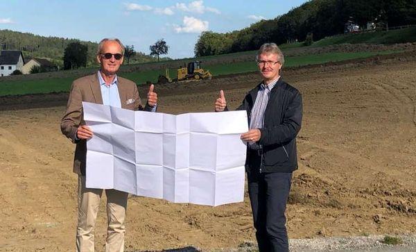 Bau des Altstoffsammelzentrums hat begonnen