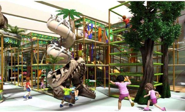 Indoor-Spielhalle und Restaurantprojekt: Fünf-Millionen-Euro-Investition bei Ikuna