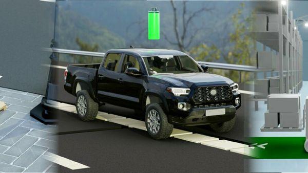 Auto elettriche: un'azienda tedesca sviluppa l'asfalto che ricarica le batterie del veicolo fino al 95%