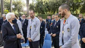 Chiellini Commendatore, gli altri Azzurri Cavalieri: le onorificenze di Mattarella per i vincitori di Euro 2020