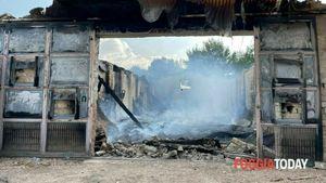 Incendiato il capannone di Lazzaro D'Auria, l'imprenditore che ha denunciato la mafia di Foggia