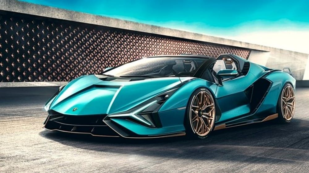Lamborghini svela nuova Roadster tecnologia del futuro cielo aperto
