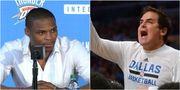 Mark Cuban:「Russell Westbrook不值得獲得MVP」