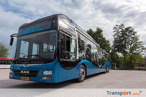 Syntus kiest voor MAN bussen voor stadslijnen in Almere