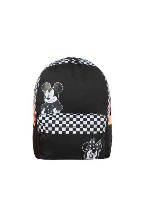 Vans Punk VN0A3UHXBLK1 Backpack Mickey Realm Μαύρο