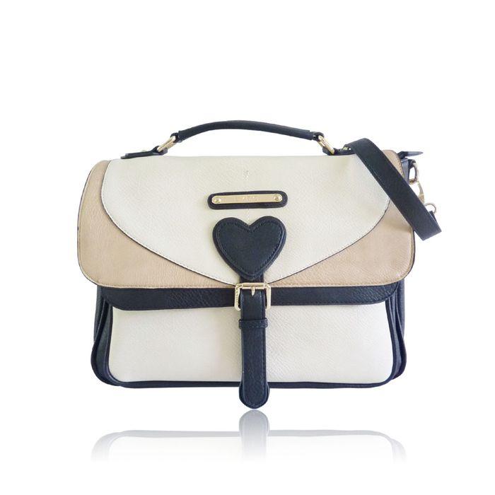 Heart Sutchel Crossbody Bag