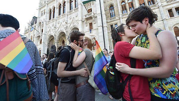Ungarn will Werbung für Homosexualität verbieten