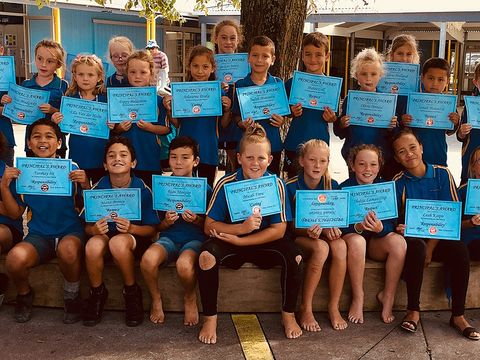 Term 1 2018 Principals Awards