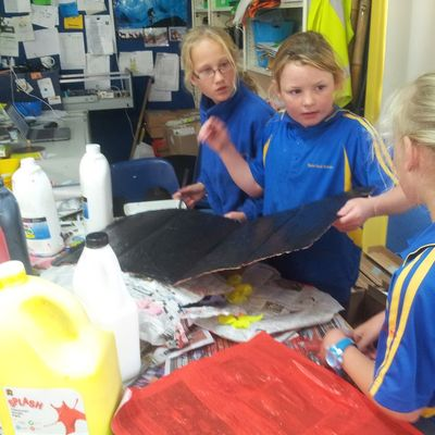 Recyclable Materials Needed for Wearable Art