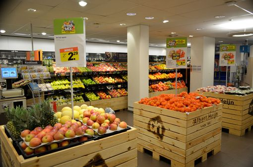 Albert Heijn interieur