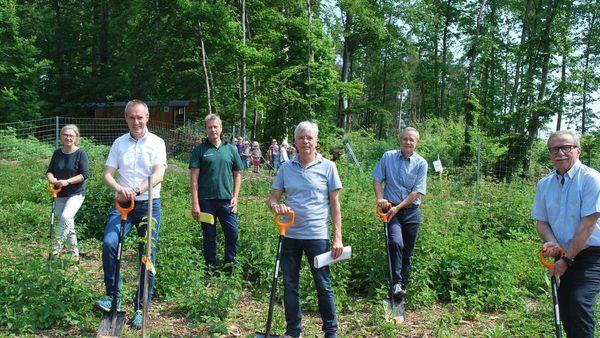 Rotaryclub spendet 200 Bäume für den Stadtwald in Bad Arolsen