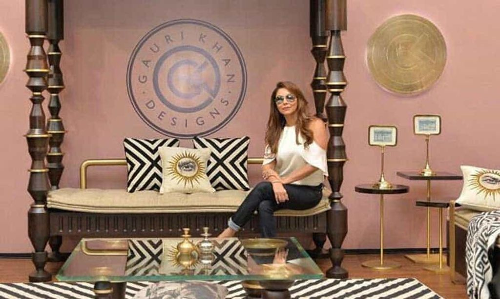 Gauri Khan Showing Some Real Designing Chops With Her Flagship Store !