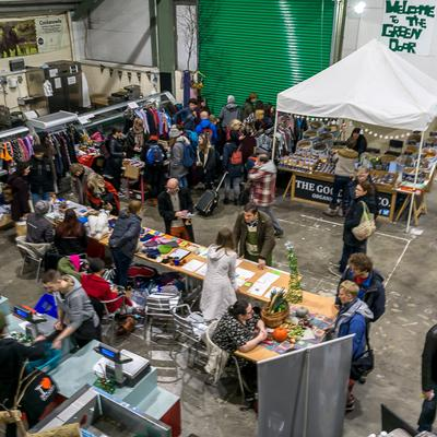 Swap Shop and Info Stalls
