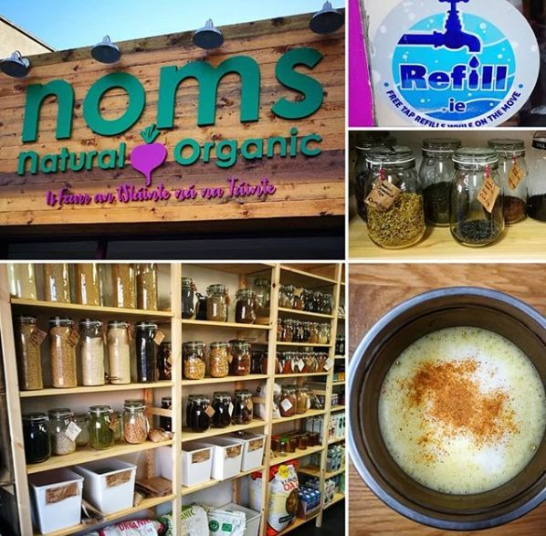 Noms brings loose goods and their signature Turmeric Latte