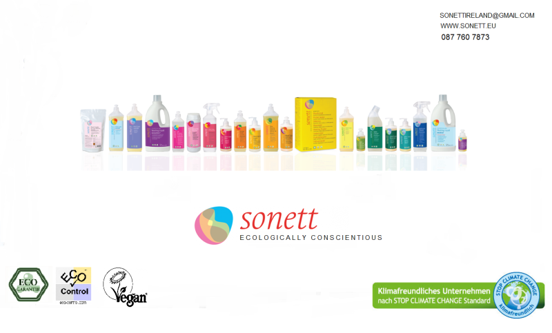 Sonett Ireland will bring organic soaps and detergents
