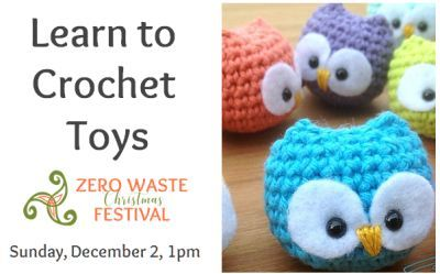 1 pm - at Learn to Crochet Toys you learn the art of making amigurumi toys