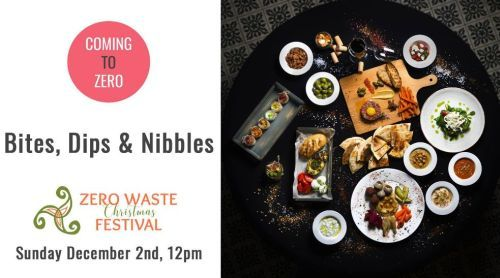 12 noon - at Bites, Dips and Nibbles you learn how to treat your guests without filling the bin