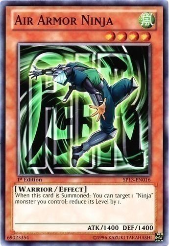 Duel Links Card: Air Armor Ninja