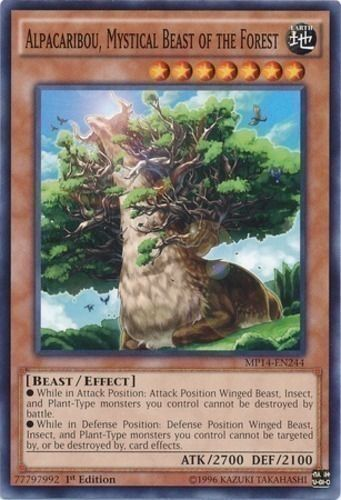 Duel Links Card: Alpacaribou,%20Mystical%20Beast%20of%20the%20Forest