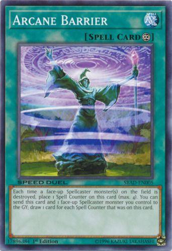 Duel Links Card: Arcane Barrier