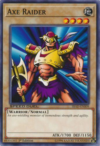 Duel Links Card: Axe Raider