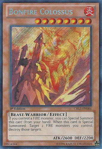 Duel Links Card: Bonfire Colossus