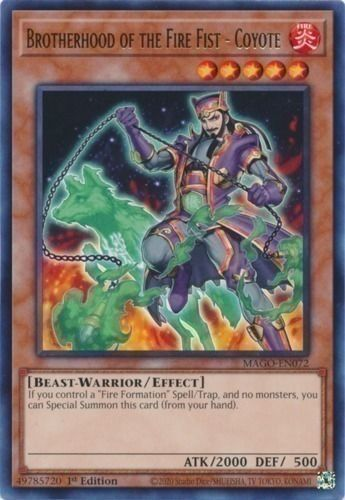 Duel Links Card: Brotherhood%20of%20the%20Fire%20Fist%20-%20Coyote