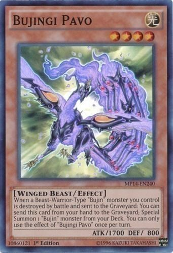 Duel Links Card: Bujingi Pavo